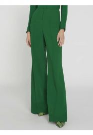 Dylan High Waisted Leg Pants by Alice + Olivia at Alice and Olivia