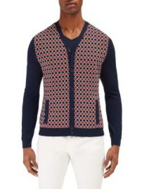 EFM-Engineered for Motion - Mariner Printed Cardigan at Saks Fifth Avenue