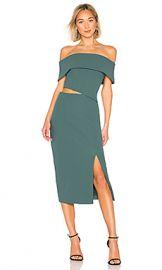 ELLIATT Serpentine Dress in Peacock from Revolve com at Revolve