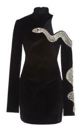 EMBROIDERED COTTON MINI DRESS BY DAVID KOMA at Moda Operandi