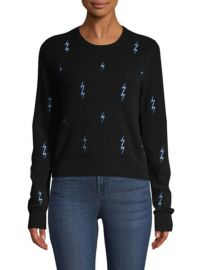 EQUIPMENT - SHIRLEY LIGHTNING KNIT CASHMERE SWEATER at Saks Fifth Avenue