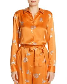 EQUIPMENT ESSENTIAL FLORAL PRINT SILK TOP at Bloomingdales