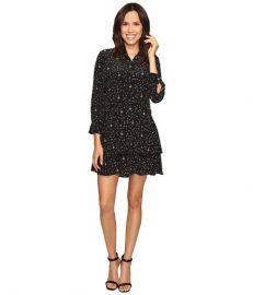 EQUIPMENT Natalia Dress True Black Multi at 6pm