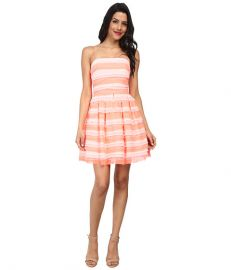ERIN erin fetherston Azalea Dress Electric Guava at 6pm