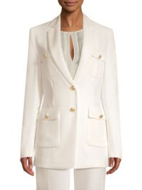 ESCADA - BERGET PATCH POCKET JACKET at Saks Fifth Avenue