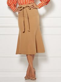 EVA MENDES COLLECTION - CLAUDINE FLOUNCED SKIRT at NY&C