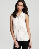 Earhart blouse by Theory at Bloomingdales