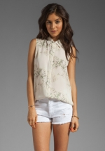Earhart blouse by Theory at Revolve