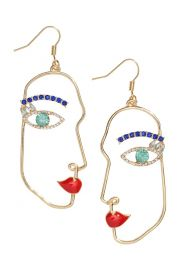 Earrings with Rhinestones at H&M