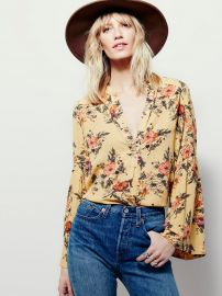 Easy Girl Printed Top at Free People