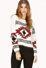 Easy Traveler Shag Sweater at Forever 21