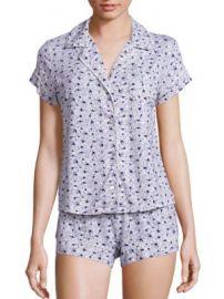 Eberjey - Nightingale Short Pajamas at Saks Fifth Avenue