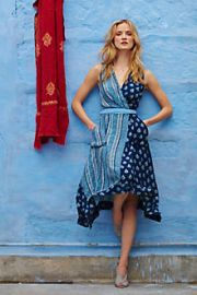 Eclipsed Wrap Dress at Anthropologie