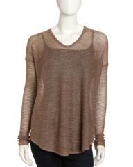 Eco Fine Gauze Sweater by Helmut Lang at Last Call