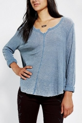 Ecote Swingy Thermal Top at Urban Outfitters