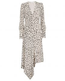 Eden Leopard Zip Front Dress at Intermix