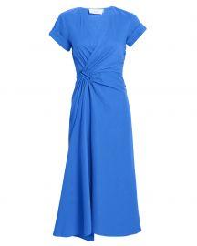 Edie Linen Blend Midi Dress at Intermix