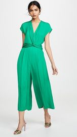 Edition10 V Neck Wrap Waist Jumpsuit at Shopbop