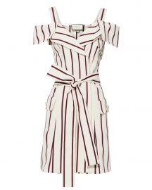 Edrea Striped Mini Dress at Intermix