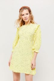 Edwina Floral Mini Dress by Faithfull The Brand at Urban Outfitters