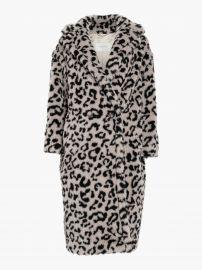 Edy Oversized Leopard Coat by Max Mara at Olivela