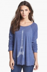 Eiffel tower pullover by Wildfox at Nordstrom