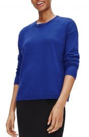 Eileen Fisher Boxy Organic Linen  amp  Organic Cotton Sweater   Nordstrom at Nordstrom