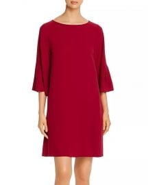 Eileen Fisher Silk Bell-Sleeve Shift Dress Women - Bloomingdale s at Bloomingdales