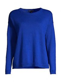 Eileen Fisher - Crew-Neck Boxy Sweater at Saks Fifth Avenue