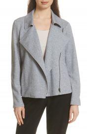 Eileen Fisher Organic Cotton Tweed Moto Jacket  Regular  amp  Petite at Nordstrom