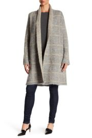 Eileen Fisher Shawl Collar Open Coat at Nordstrom Rack