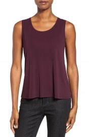 Eileen Fisher Silk Jersey Tank  Regular   Petite   Online Only at Nordstrom
