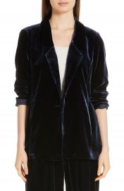 Eileen Fisher Velvet Blazer at Nordstrom