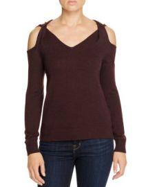 Elan Twist Cold Shoulder Sweater at Bloomingdales