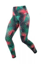 Electric Palm Tights at Lorna Jane