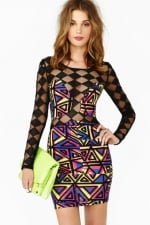 Electric Sound Dress at Nasty Gal