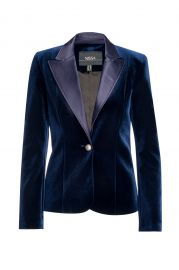 Elegant Velvet Blazer by Nissa at Wolf & Badger