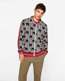 Elephant Print Sweatshirt with Zip by Zara at Zara