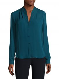 Elie Tahari - Bea Silk Blouse at Saks Fifth Avenue
