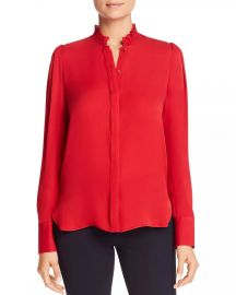 Elie Tahari Ciara Silk Blouse Women - Bloomingdale s at Bloomingdales