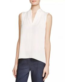Elie Tahari Judith Stretch Silk Blouse Women - Bloomingdale s at Bloomingdales