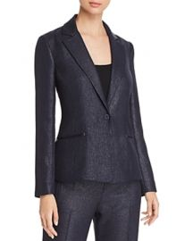 Elie Tahari Monet Metallic Blazer at Bloomingdales
