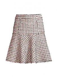 Elie Tahari - Astrid Tweed Trumpet Skirt at Saks Fifth Avenue