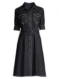 Elie Tahari - Aurora Denim Shirtdress at Saks Fifth Avenue