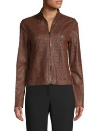Elie Tahari - Highline Leather Jacket at Saks Fifth Avenue