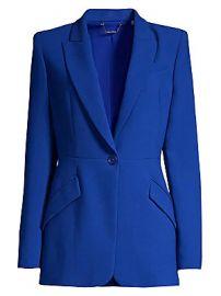 Elie Tahari - Madison Crepe One-Button Blazer at Saks Fifth Avenue