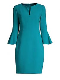 Elie Tahari - Natanya Crepe Sheath Dress at Saks Fifth Avenue