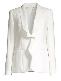 Elie Tahari - Serena Ruffle Front Jacket at Saks Fifth Avenue