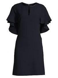 Elie Tahari - Theodore Flutter Sleeve Sheath Dress at Saks Fifth Avenue