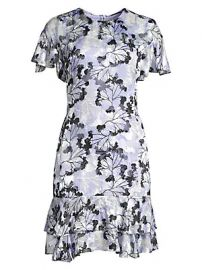 Elie Tahari - Yonica Floral Dress at Saks Fifth Avenue